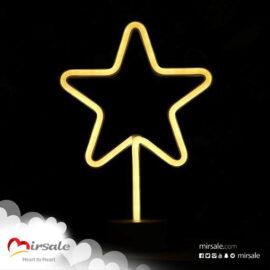 ضوء النجمة نيون