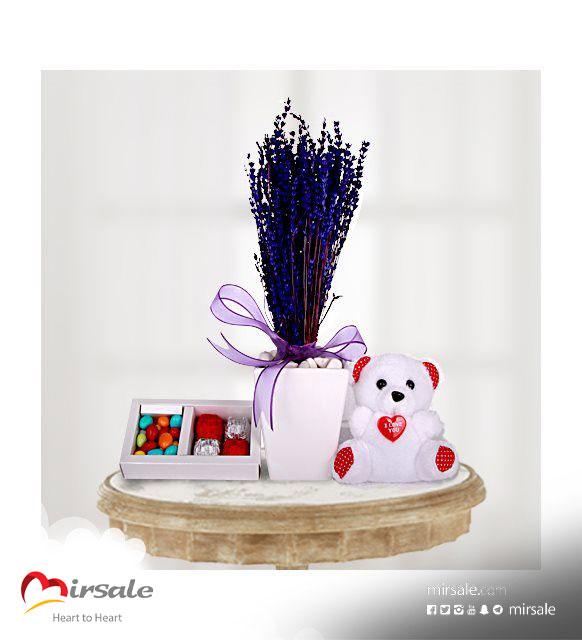 شوكولا مع الزهر اللافندر