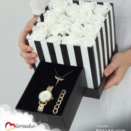 بوكس الورود البيضاء